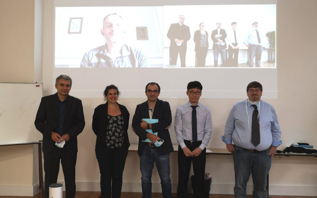 Congratulation to Dr. ZHAO Tuan